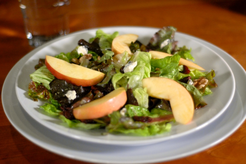 Fall Salad Add-Ins: Apples, Walnuts, Dried Cherries, Blue ...