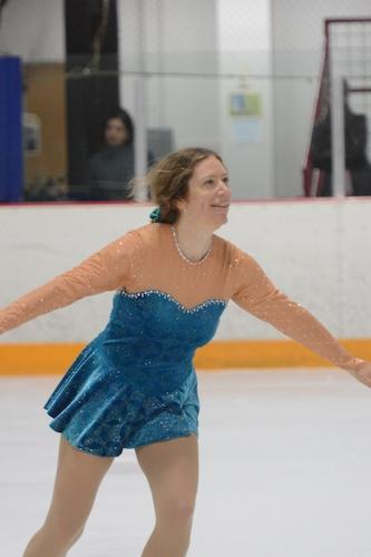 smiling skater