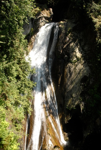 a view of Twin Falls