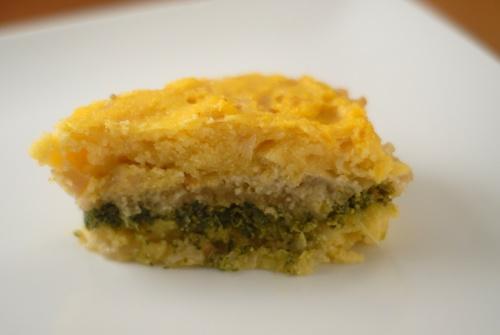 a slice of polenta torte